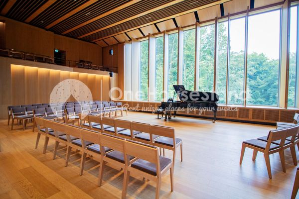 Picture of an event venue rental in Waterloo, Walloon Brabant, Inside the Queen Elisabeth Music Chapel 12861