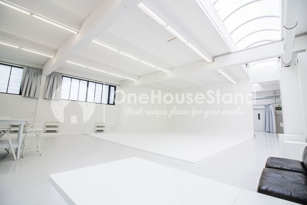 Picture of an event venue rental in Saint-Gilles, Brussels, Inside Pierre's studio 13230