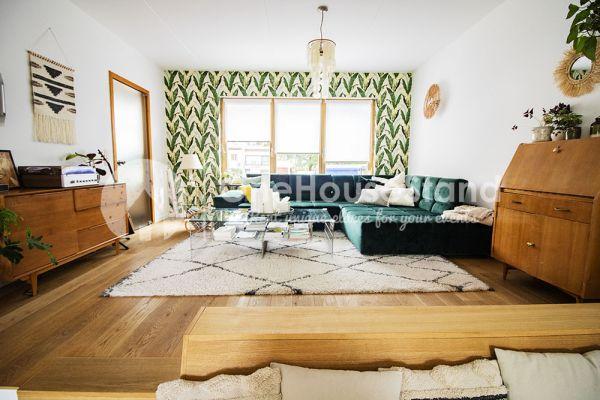Photo d'une salle à louer à Elsene, Bruxelles, Dans la maison d'Audrey & Jean-Charles 14123