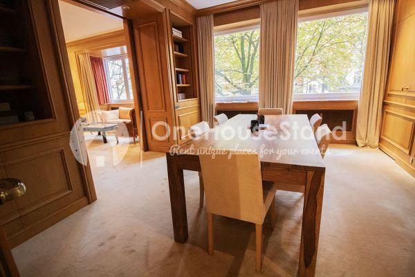 Photo d'une salle à louer à Elsene, Bruxelles, Dans l'espace lounge de John-Alexander 14548
