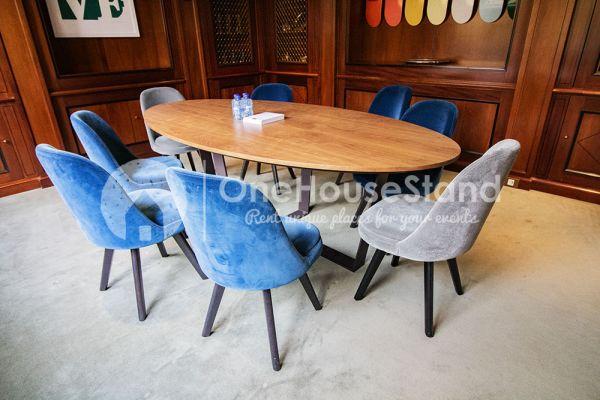 Photo d'une salle à louer à Elsene, Bruxelles, Dans l'espace lounge de John-Alexander 14595