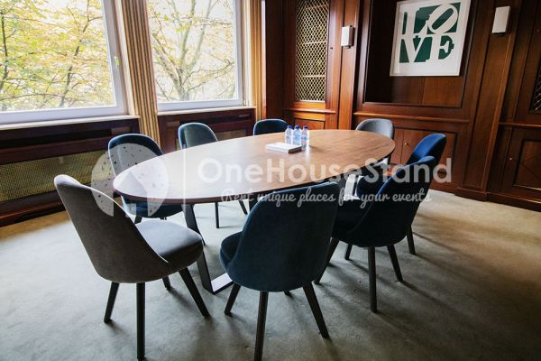 Photo d'une salle à louer à Elsene, Bruxelles, Dans l'espace lounge de John-Alexander 14598