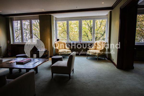 Photo d'une salle à louer à Elsene, Bruxelles, Dans l'espace lounge de John-Alexander 14601