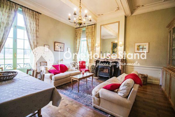Picture of an event venue rental in Comblain-Fairon, Liege, Inside Sabine & Jean-François' castle 14847
