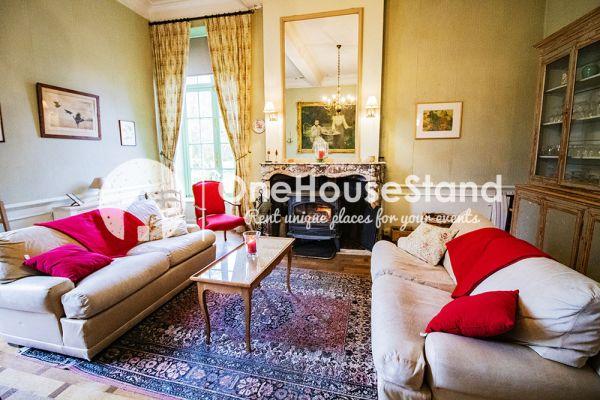 Picture of an event venue rental in Comblain-Fairon, Liege, Inside Sabine & Jean-François' castle 14850
