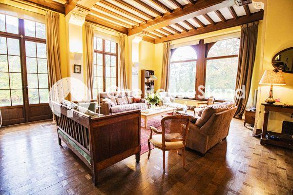 Picture of an event venue rental in Comblain-Fairon, Liege, Inside Sabine & Jean-François' castle 14851
