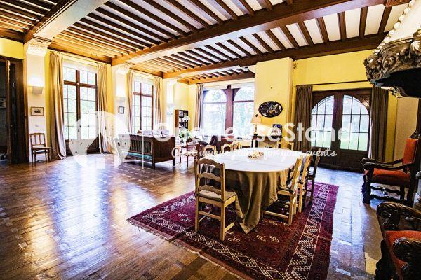 Picture of an event venue rental in Comblain-Fairon, Liege, Inside Sabine & Jean-François' castle 14853