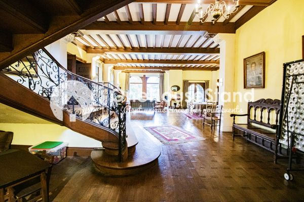 Picture of an event venue rental in Comblain-Fairon, Liege, Inside Sabine & Jean-François' castle 14854