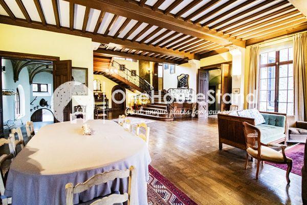 Picture of an event venue rental in Comblain-Fairon, Liege, Inside Sabine & Jean-François' castle 14855