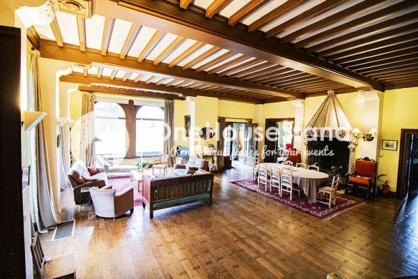 Picture of an event venue rental in Comblain-Fairon, Liege, Inside Sabine & Jean-François' castle 14856