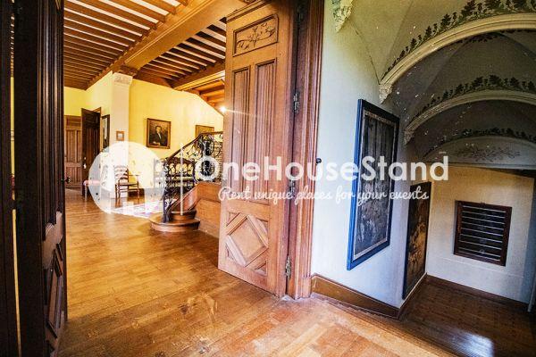 Picture of an event venue rental in Comblain-Fairon, Liege, Inside Sabine & Jean-François' castle 14857
