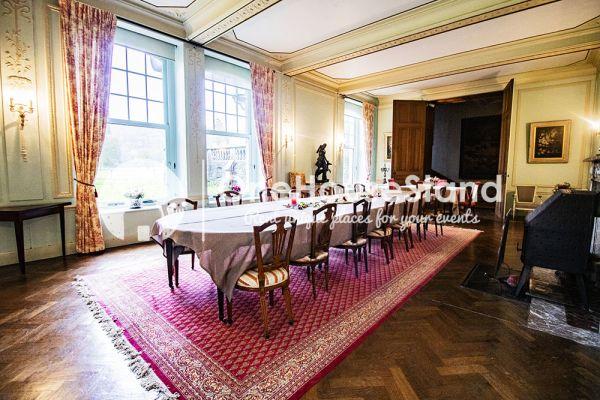 Picture of an event venue rental in Comblain-Fairon, Liege, Inside Sabine & Jean-François' castle 14859