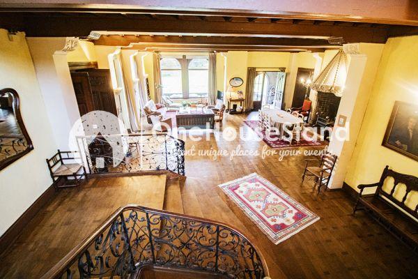 Picture of an event venue rental in Comblain-Fairon, Liege, Inside Sabine & Jean-François' castle 14861