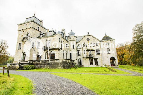 Picture of an event venue rental in Comblain-Fairon, Liege, Inside Sabine & Jean-François' castle 14866