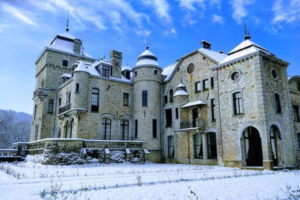 Picture of an event venue rental in Comblain-Fairon, Liege, Inside Sabine & Jean-François' castle 15256