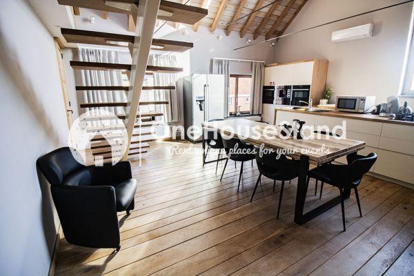 Photo d'une salle à louer à Beveren-aan-den-Ijzer, Flandre Occidentale, Dans la maison d'Ysabel & Stefaan 15112