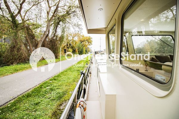 Picture of an event venue rental in Malines, Antwerp, Inside Tom's houseboat 15266