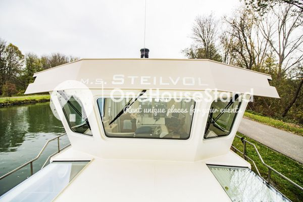 Picture of an event venue rental in Malines, Antwerp, Inside Tom's houseboat 15276