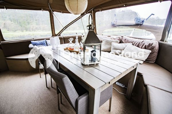 Picture of an event venue rental in Malines, Antwerp, Inside Tom's houseboat 15315
