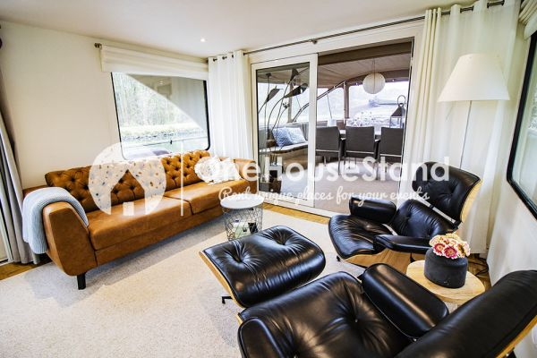Picture of an event venue rental in Malines, Antwerp, Inside Tom's houseboat 15326