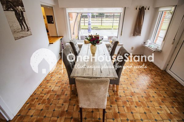 Picture of an event venue rental in Eindhout, Antwerp, Inside Stefanie's farm 16145