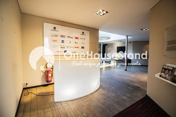 Picture of an event venue rental in Uccle, Brussels, Inside John-Alexander's (1) meeting room 16357
