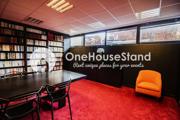 Picture of an event venue rental in Uccle, Brussels, Inside John-Alexander's (2) meeting room 16402