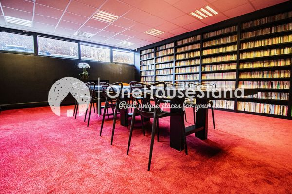 Picture of an event venue rental in Uccle, Brussels, Inside John-Alexander's (2) meeting room 16403