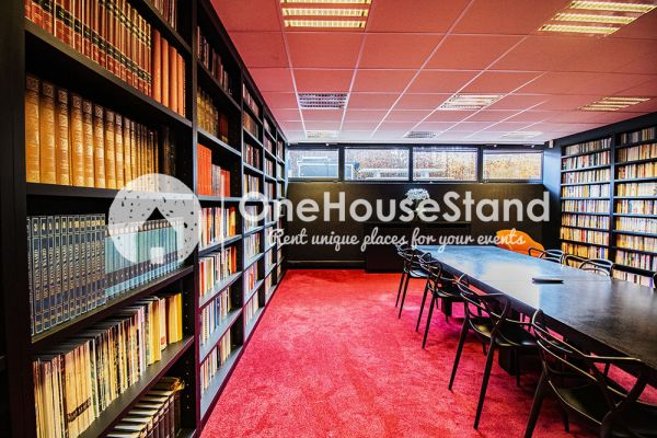 Picture of an event venue rental in Uccle, Brussels, Inside John-Alexander's (2) meeting room 16404