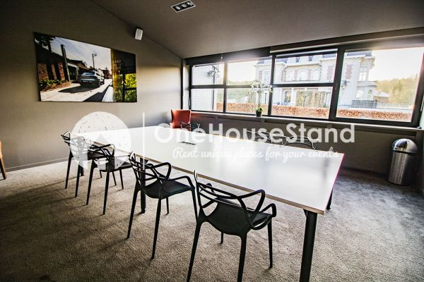 Picture of an event venue rental in Uccle, Brussels, Inside John-Alexander's (5) meeting room 16550