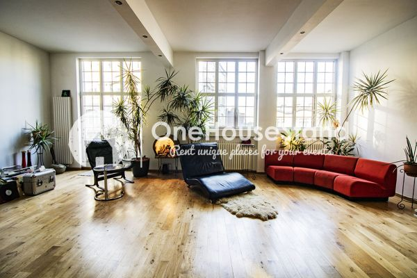 Picture of an event venue rental in Anderlecht, Brussels, Inside Dirk & Mieke's loft 16566