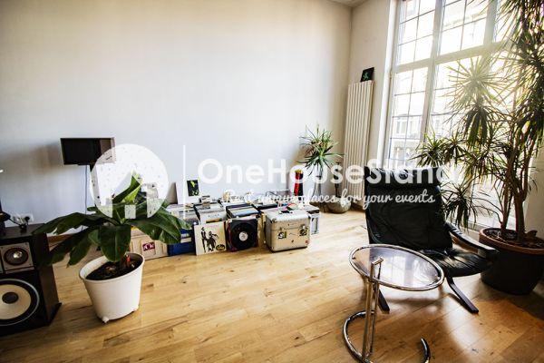 Feestzaal verhuren in Anderlecht, Brussel, In de loft van Dirk & Mieke 16571
