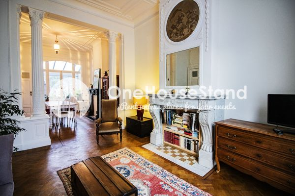Picture of an event venue rental in Sint-Pieters-Woluwe, Brussels, Inside Geoffrey's house 16623