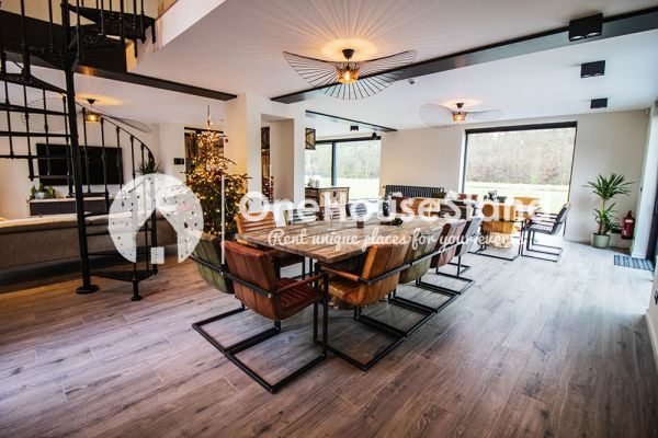 Picture of an event venue rental in Amonines, Luxemburg, Inside Jo's lodge 17167