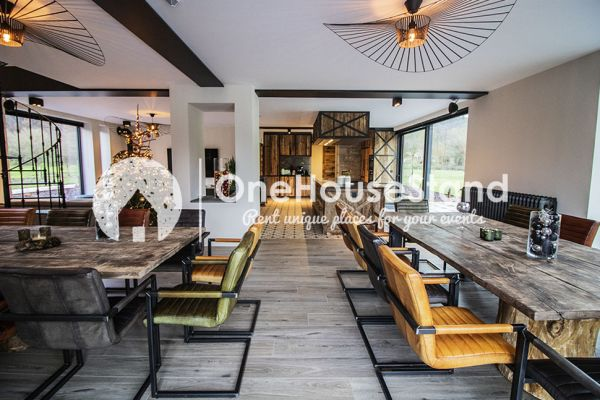 Picture of an event venue rental in Amonines, Luxemburg, Inside Jo's lodge 17168