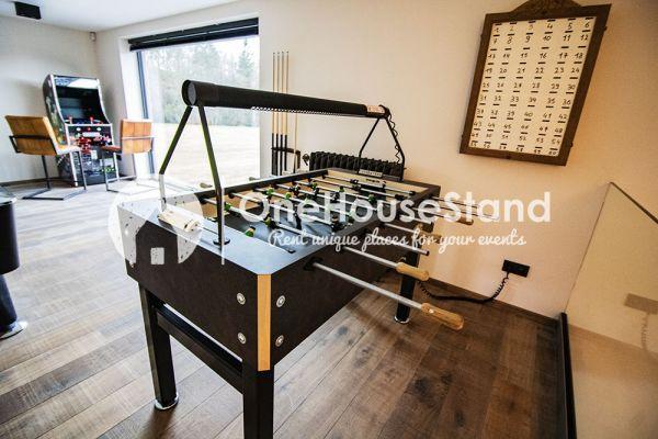 Photo d'une salle à louer à Amonines, Luxembourg, Dans le gîte de Jo 17216
