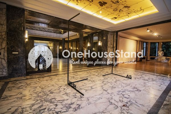 Picture of an event venue rental in Elsene, Brussels, Inside The Villa Empain 17297