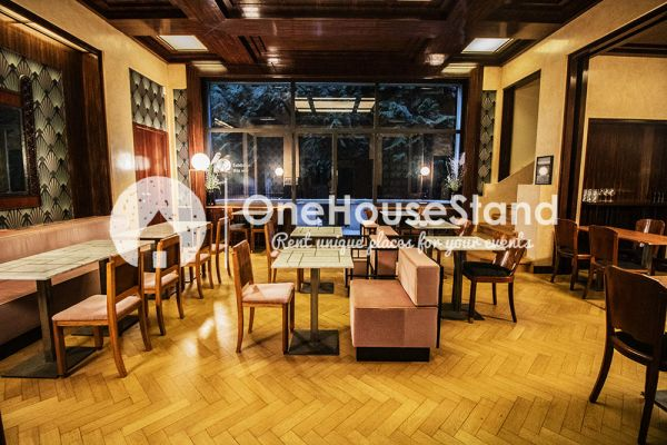 Picture of an event venue rental in Elsene, Brussels, Inside The Villa Empain 17302