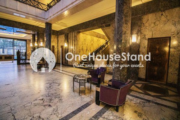 Picture of an event venue rental in Elsene, Brussels, Inside The Villa Empain 17351