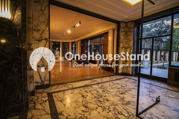 Picture of an event venue rental in Elsene, Brussels, Inside The Villa Empain 17357