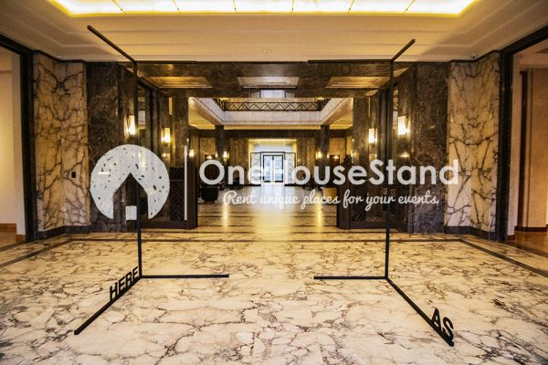 Picture of an event venue rental in Elsene, Brussels, Inside The Villa Empain 17365