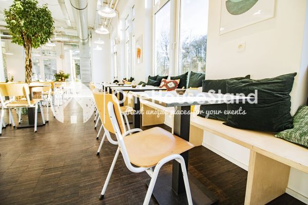 Picture of an event venue rental in Sint-Lambrechts-Woluwe, Brussels, Inside Romy's restaurant 17578