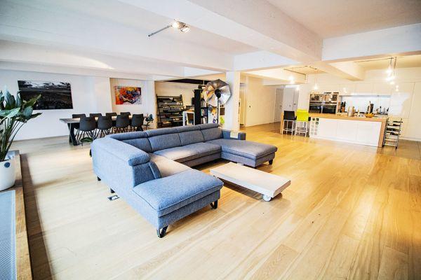 Photo d'une salle à louer à Molenbeek-Saint-Jean, Bruxelles, Dans le loft d'Elisa & Zino 17650