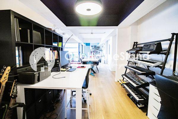 Photo d'une salle à louer à Molenbeek-Saint-Jean, Bruxelles, Dans le loft d'Elisa & Zino 18006