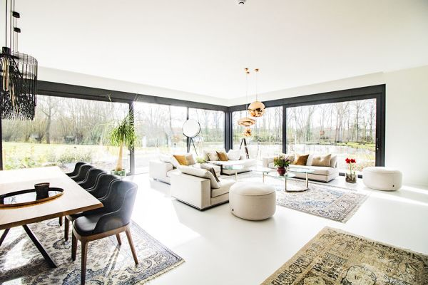 Picture of an event venue rental in Onze-Lieve-Vrouw-Lombeek, Flemish Brabant, Inside Deaur's living room 18099