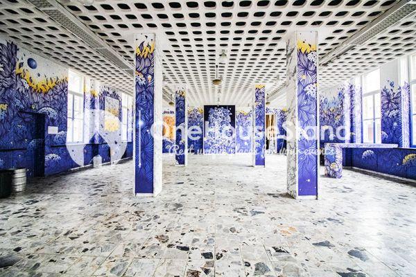 Photo d'une salle à louer à Elsene, Bruxelles, Dans le manège & la salle de Nadia 18261