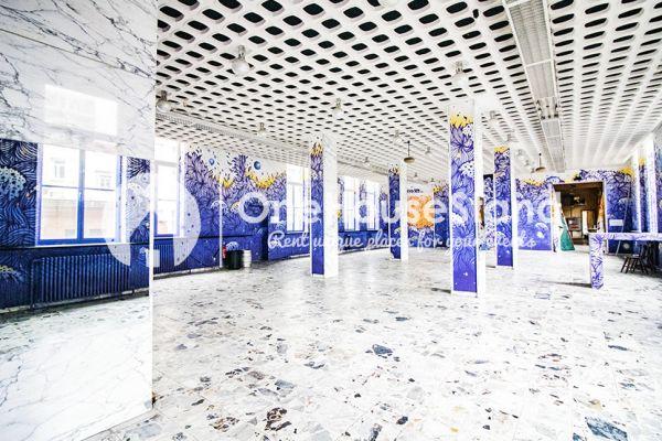 Photo d'une salle à louer à Elsene, Bruxelles, Dans le manège & la salle de Nadia 18270