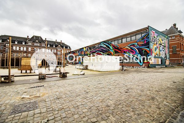 Picture of an event venue rental in Elsene, Brussels, Inside Nadia's riding area & room 18278