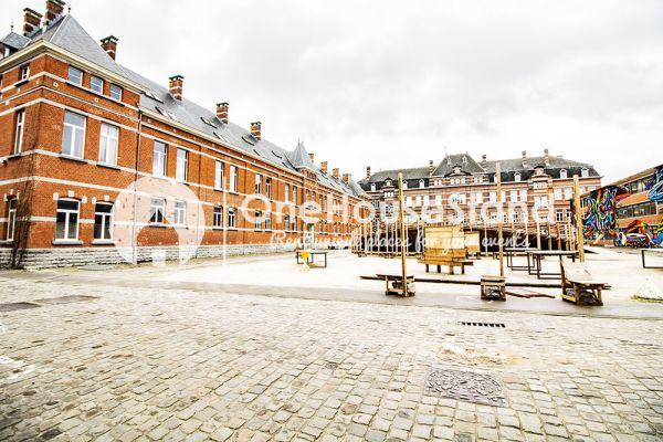 Photo d'une salle à louer à Elsene, Bruxelles, Dans le manège & la salle de Nadia 18279