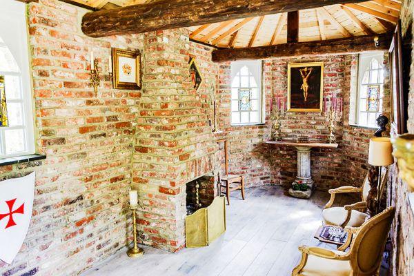 Photo d'une salle à louer à Ottignies, Brabant Wallon, Dans le manoir de François-Xavier 18290
